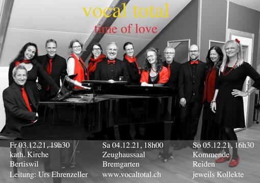 Vocal Total Flyer Weihnachtskonzerte