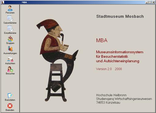 MBA: Startseite