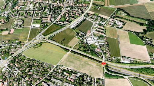 Vue aérienne de Bernex-Est