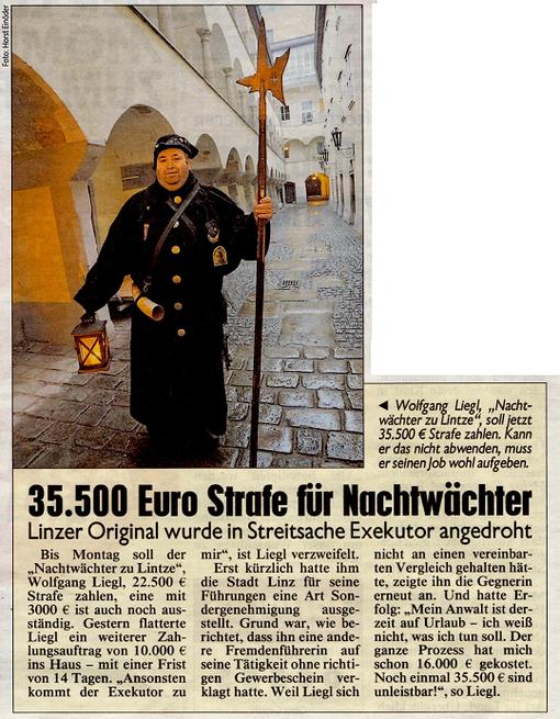 Kronen Zeitung - Donnerstag, 15. August 2013