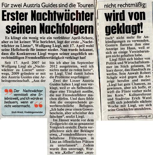 Kronen Zeitung - Dienstag, 26. Februar 2013