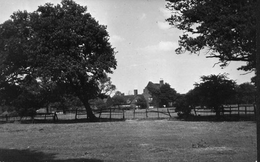 Cherry Orchard Farm. Acknowledgements to Handsworth Historical Society for their kind permission to use this image - 'All Rights Reserved'. See Acknowledgements for a direct link to their website.