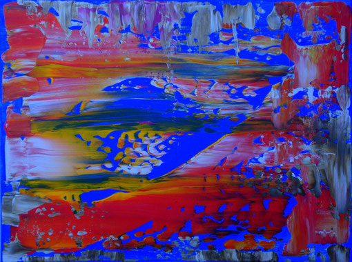 o.T., Acryl auf Lwd., 30x40, 2012  Nr.:12092