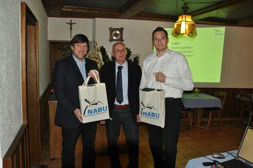 V.l.n.r. MdL Markus Rösler, Kreisvorsitzender Michael Salomon und MdL Kai Schmidt-Eisenlohr (Foto: Karl-Heinz Ott).