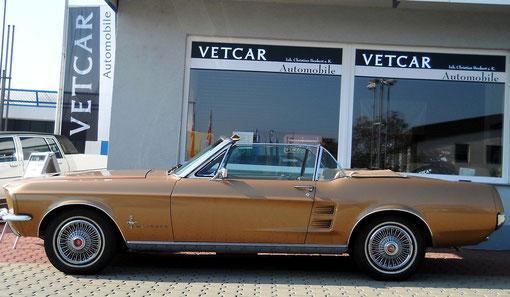 Ford Mustang Cabrio 289cui V8 Motor und C4 Automatikgetriebe