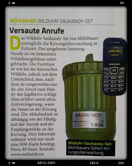 Quelle: Sauen , Fachzeitschrift Ausgabe 02/2014