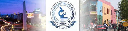 69° Congreso Argentino de Bioquímica, del 30 de mayo al 1º de junio de 2011 - Salón Mirador, Calle Acoyte n° 754, Ciudad Autónoma de Buenos Aires – Argentina.