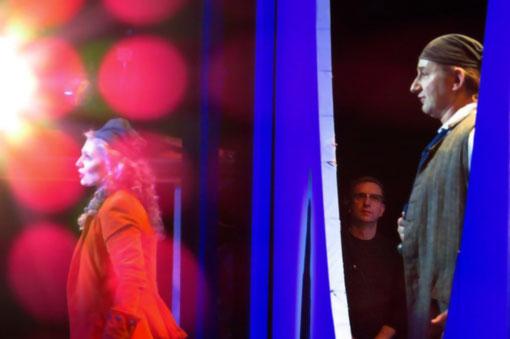 """Mit Judith Braun als """"Ruth"""" und Algirdas Drevinskas als """"Frederic"""". (Photo Laura Halm)"""