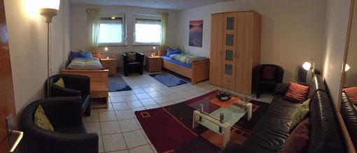 Zweibettzimmer 3in unserer Ferienwohnung Erlangen