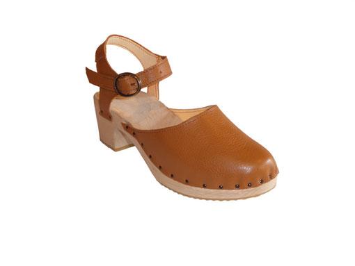 sabot suédois à talon version sandale modèle tania