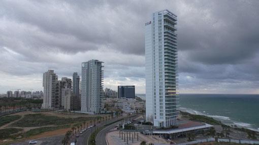 Netania, one of the flourishing Israeli cities