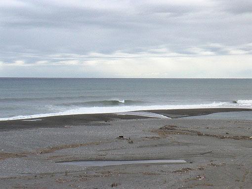 10月30日台風 波上がらず。