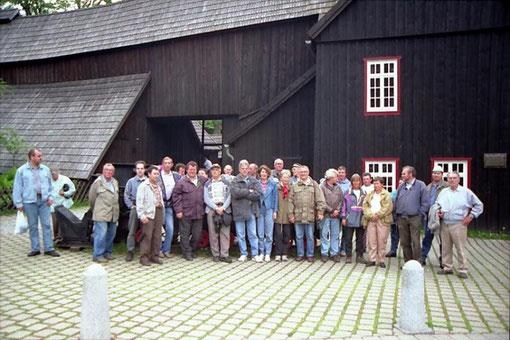 Vor der Grube Samson in St. Andreasberg