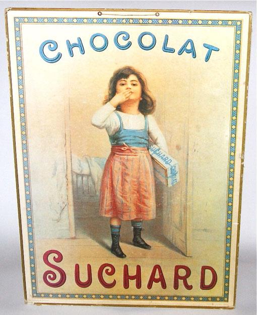 Suchard Pappschild 61 x 43cm