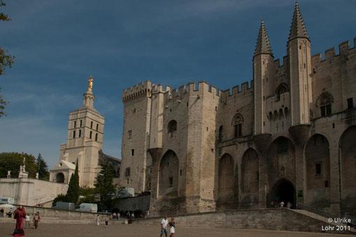 Papstpalast in Avignon
