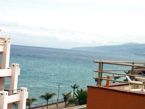 Hübsches, kleines Ferienapartment in Puerto de la Cruz am Strand Martianez mit Pool auf teneriffa, autofreier urluab