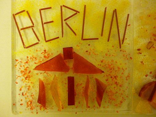 Brandenburger Tor Berlin Schriftzug