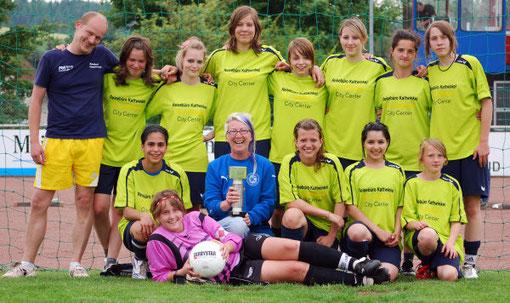 Strahlender Kreispokalsieger: Das Team vom SC Lüdenscheid