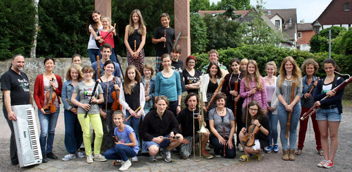 Orchester-Workshop Juni 2014