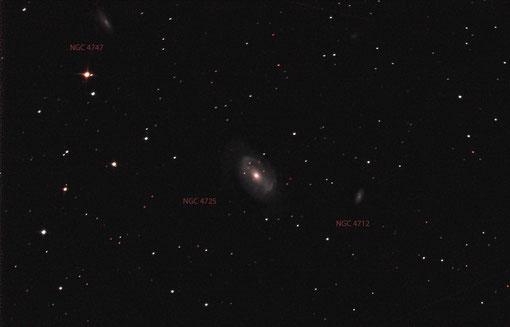 NGC 4725 im Haar der Berenike