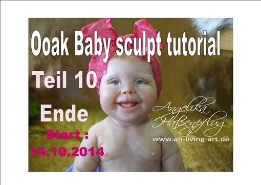 baby doll ooak sculpt tutorial reborn baby