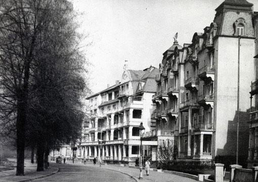 Ehemals vorhandenes Hotel Carlton Ludwigstraße, Foto: Sammlung Jürgen Wegener