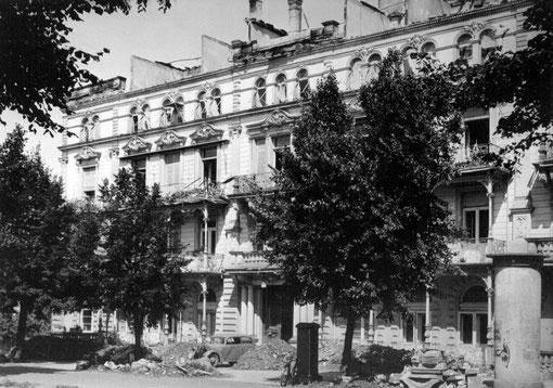 Ehemaliges Hotel Auguste Viktoria Lindenstraße, Foto: Sammlung Jürgen Wegener