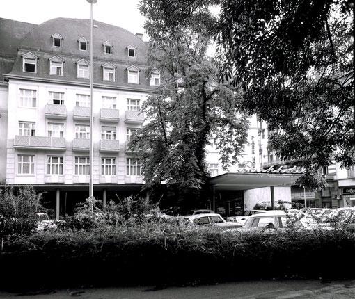 Ehemaliges Parkhotel, Kurstraße, Foto: Sammlung Jürgen Wegener