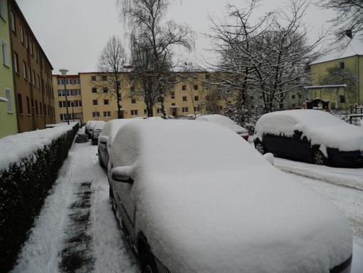 Schneeautos in Münster, WK
