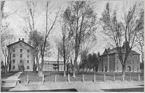 Mount Morris College (1879 - 1932) Mount Morris, IL.