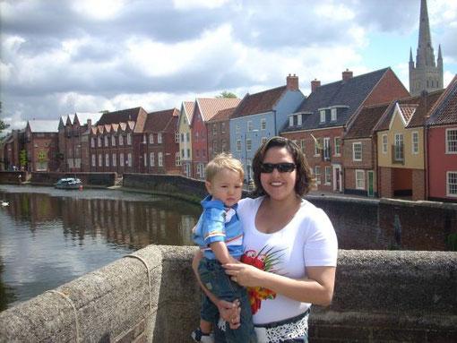 Norwich, die Stadt in der wir waren