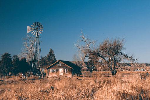 Saloons und Architektur im Westen der USA