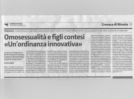 Giornale di Sicilia-Mercoledì 29 dicembre 2010