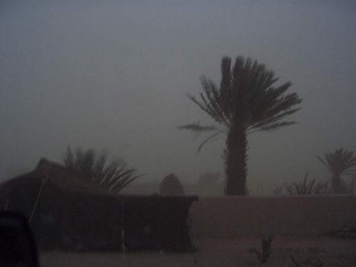 Das war ein Sandsturm