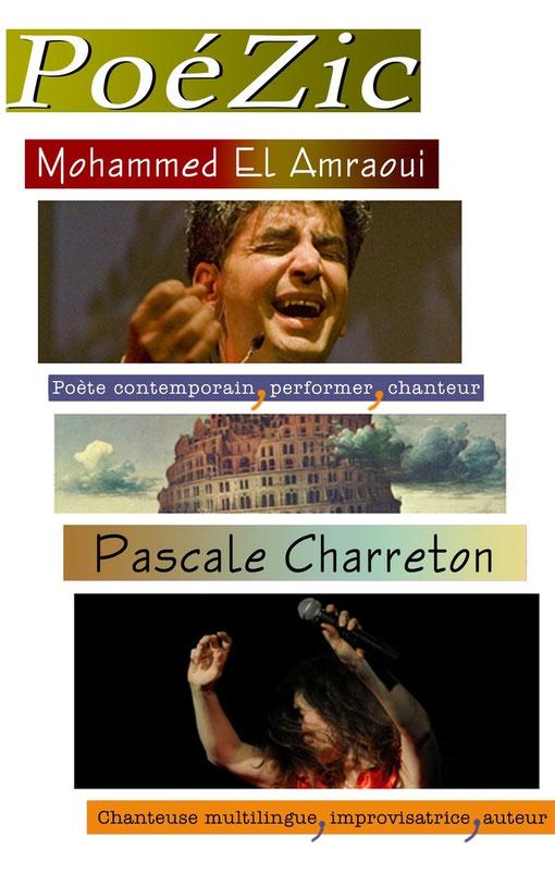 Pascale Charreton, Mohammed El Amraoui poète