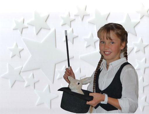 Einladung Kindergeburtstag mit Zauberer