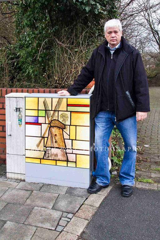"""Blickfang """"Alte Mühle- Hamm Pelkum"""". (Auftragsarbeit)"""