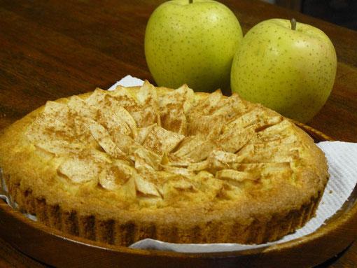 毎年のリンゴの「タルト」