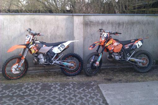 KTM EXC 250 2009 & 2007