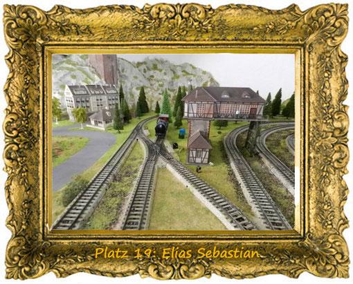 6. Dezember, Platz 19: Elias Sebastian