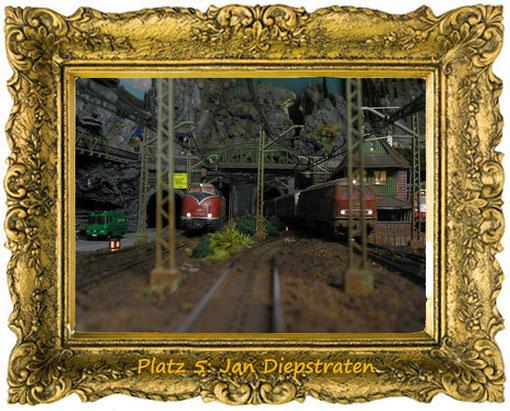 20. Dezember, Platz 5: Jan Diepstraten