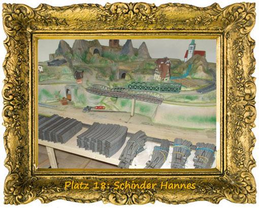 7. Dezember, Platz 18: Schinder Hannes