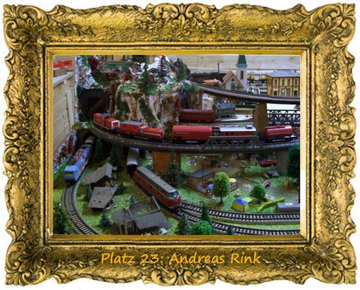 2. Dezember, Platz 23: Andreas Rink