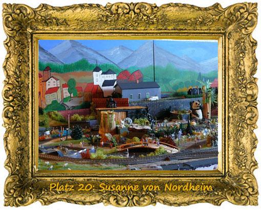 5. Dezember, Platz 20: Susanne von Nordheim
