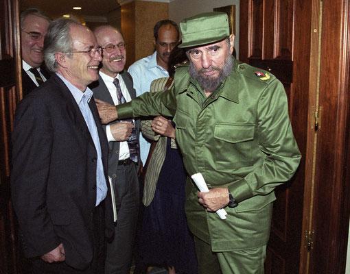 Fidel Castro im Visier... (Foto: Thomas Grziwa)