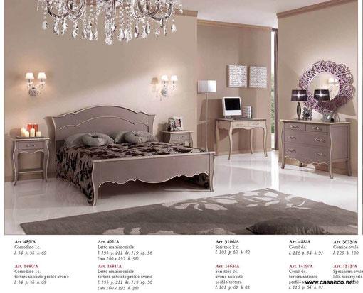 Camera da letto moderna con cassettone antico - Camere da letto stile antico ...
