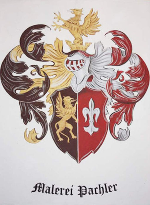 Wappen Malerei Pachler