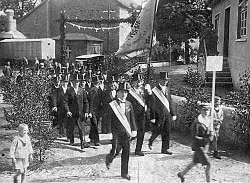 Das einzig existierende Foto des Bürger- & Kriegergesangvereins aus dem Jahre 1931