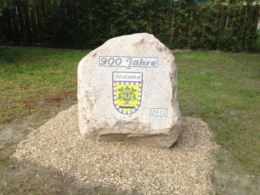 Stein 900 Jahre Steimke