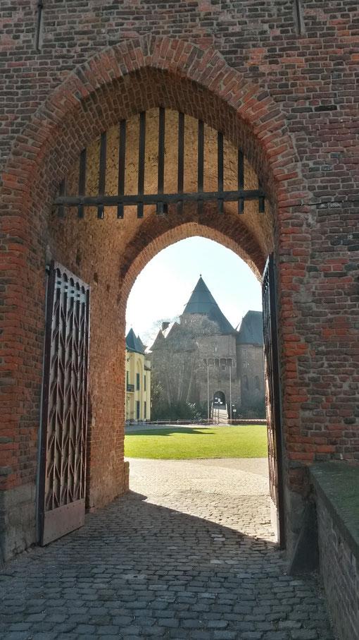 Burgtor an der Linner Burg